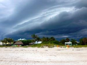 Storm at Holmes Beach